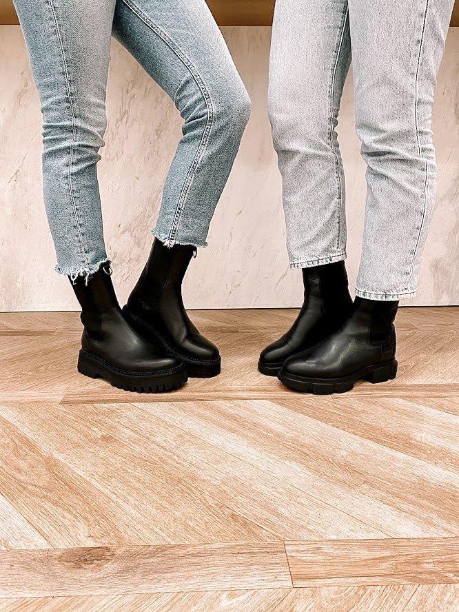 Trend alert: hoge Chelsea boots voor dames