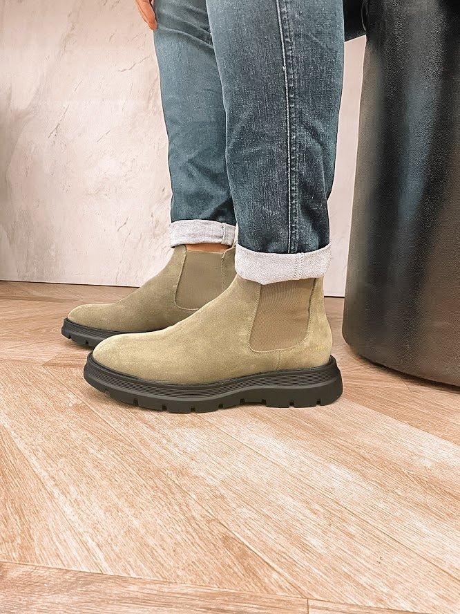 Heren chelsea boots van de nieuwe collectie
